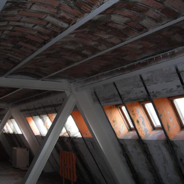 Avance de las obras de rehabilitación del refugio de Belagua