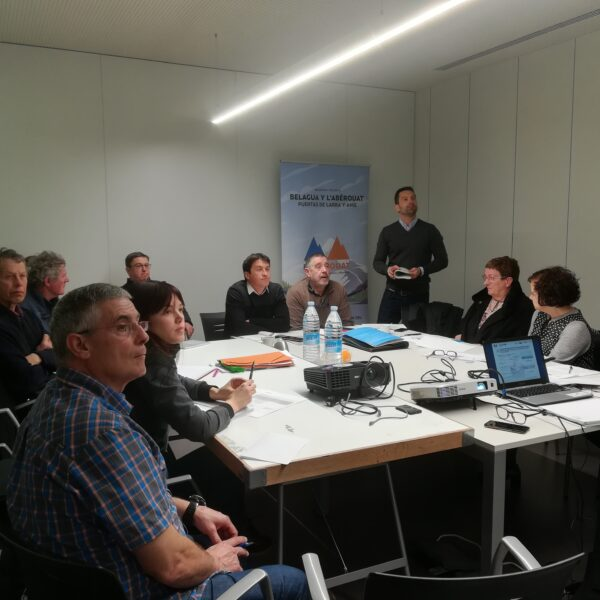 Celebrada en Pamplona la Tercera reunión de consorcio BELAROUAT